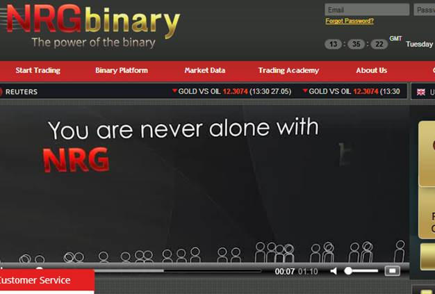 Nrg binary options review